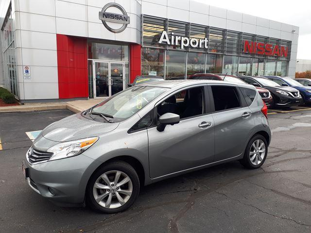 2015 Nissan Versa SL LOADED,NAVI,ALLOYWHEELS,PUS #K1602A