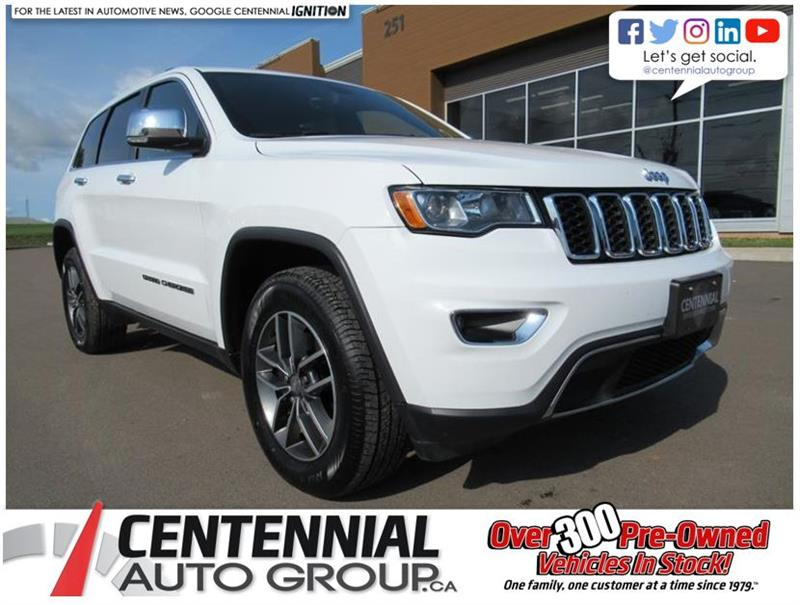 2017 Jeep Grand Cherokee Limited 4x4 | Leather | Sunroof #U634