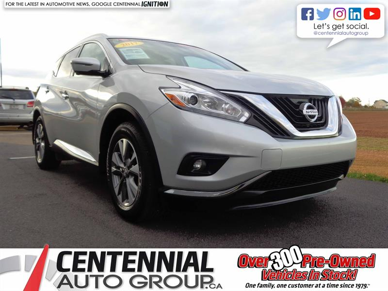 2017 Nissan Murano SL | AWD | NAVI | Bluetooth | Backup Camera | #SP18-036