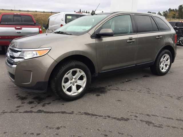 Ford EDGE 2014 4dr SEL AWD,TOIT,CUIR,NAVIGATION,79000 KM #18245A