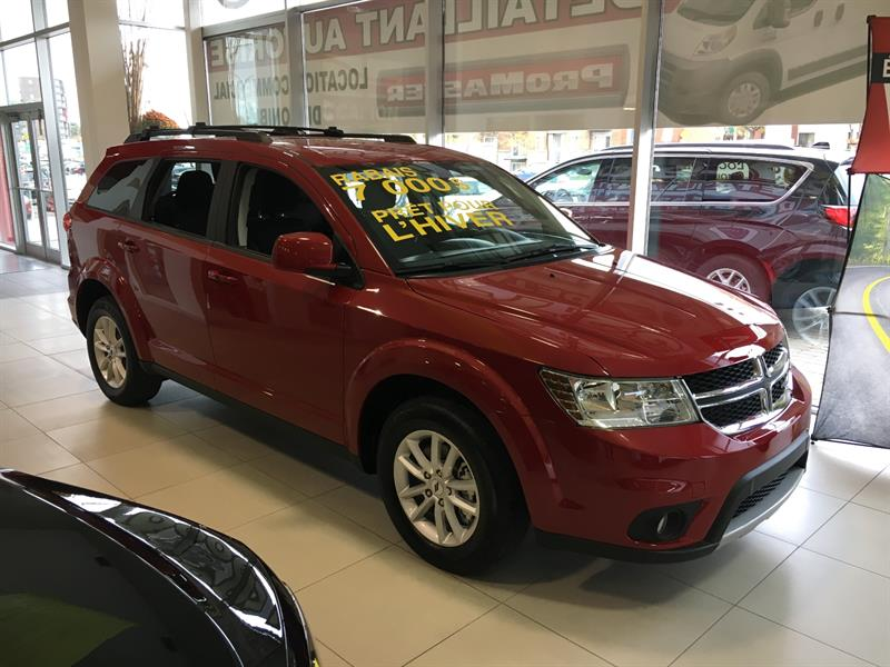 Dodge Journey 2018 SXT AWD 7 PASSAGER #C18389