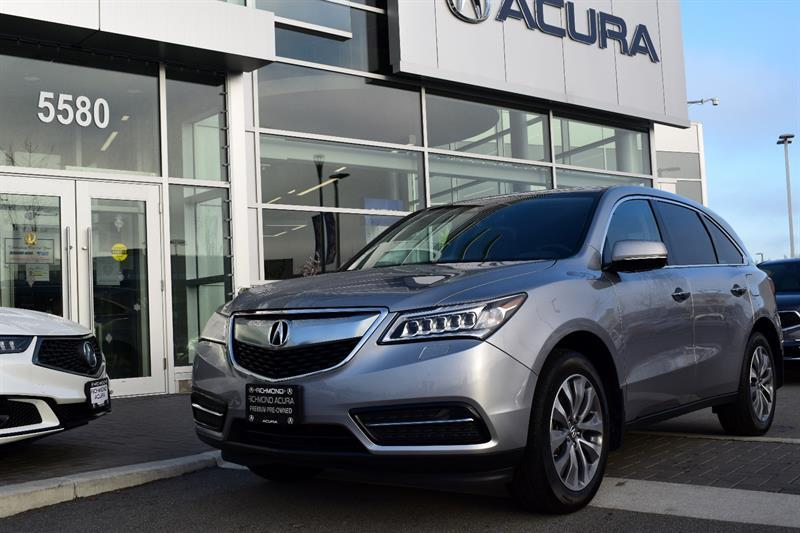 2016 Acura MDX Navi Package #P6063