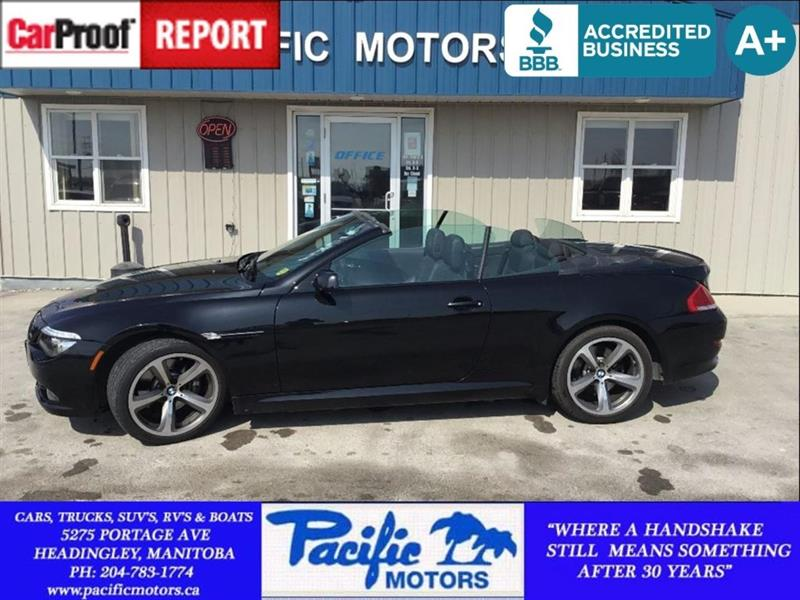 2008 BMW 6 Series 6 Series 650i Convertible #P8621