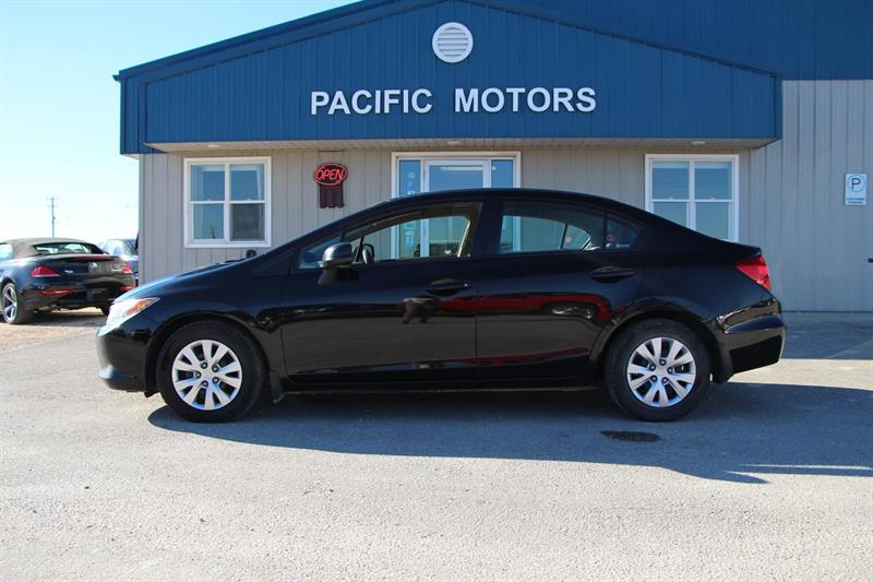 2012 Honda Civic LX Sedan 5-Speed AT #P8929