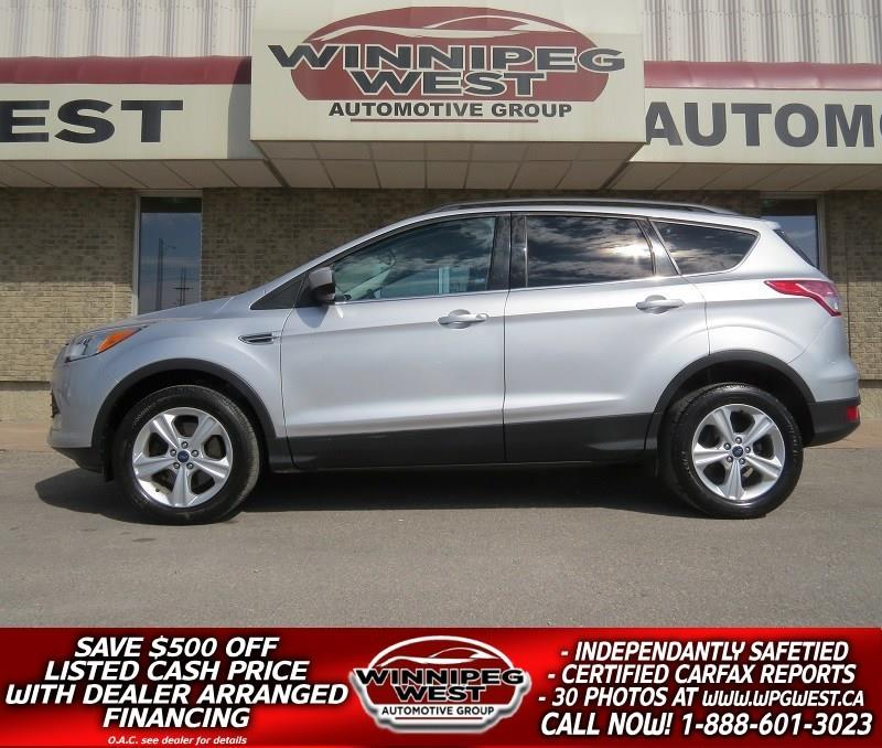 2014 Ford Escape SE 2.0L ECOBOOST 4X4, HTD LEATHER, NAV, LOCAL #GNW4722