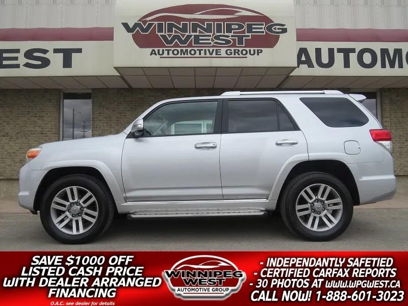 2010 Toyota 4Runner LIMITED V6 4X4, 7 PASS, LOADED, LOCAL TRADE! #GIW4685