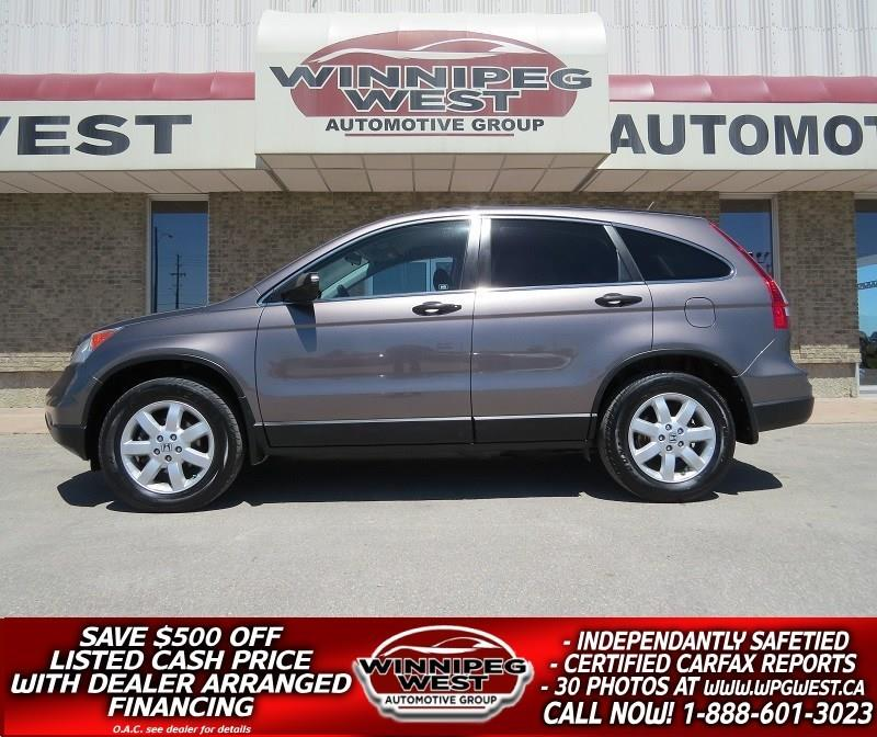 2011 Honda CR-V RARE SE AWD EDITION, LOCAL TRADE, FLAWLESS! #GIW4657