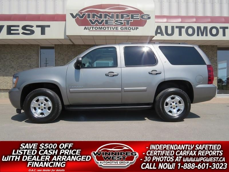 2009 Chevrolet Tahoe LT2 8 PASS 4X4, ROOF, LEATHER, PRISTINE #GNW4677