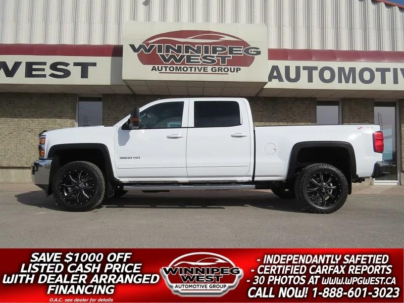 2015 Chevrolet Silverado 3500HD LT2 Z71 4X4 CREW DURAMAX, CLEAN LOCAL TRADE #DW4753