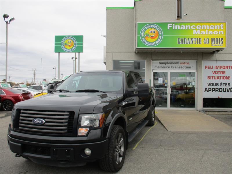 Ford F-150 2012 FX4 4WD SuperCrew  #18-224