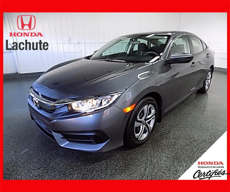 Honda Civic Sedan 2017 LX/ AIR/ GARANTIE 2024 #HU-2553