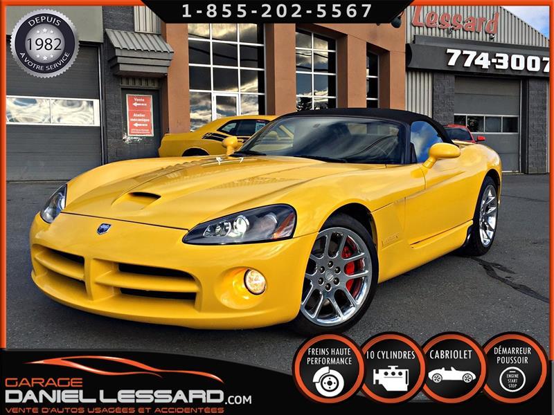 Dodge Viper 2005 SRT10, MAGS CHROMÉS, ENTRETENUE MINUTIEUSEMENT ! #58286