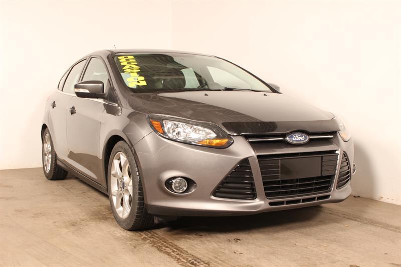 Ford Focus 2014 HB ** TITANIUM **  CUIR TOIT GPS #70791a