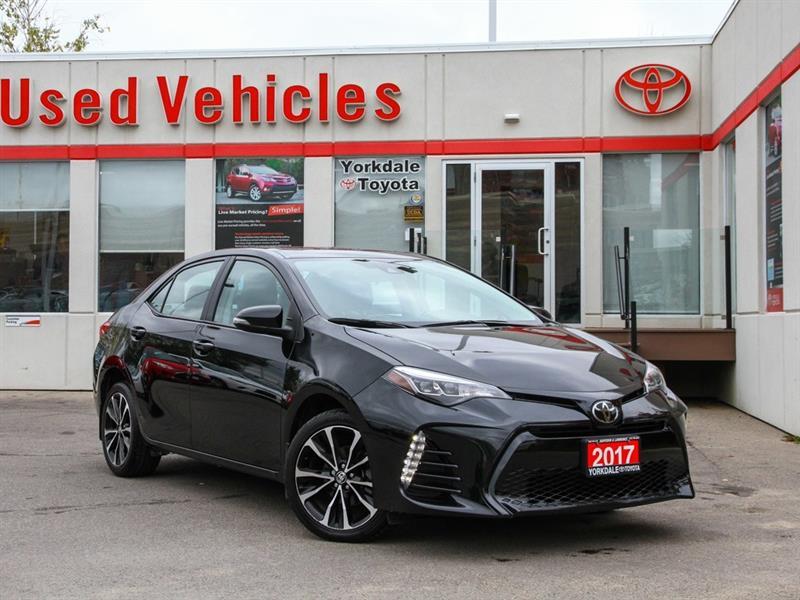 2017 Toyota Corolla SE   Sunroof   Alloys   Toyota Sense #P7649