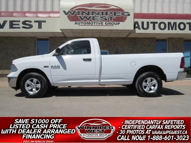 2014 Ram 1500 SXT 5.7L HEMI V8 4x4, 8 FT BOX, MANITOBA CLEAN! #GW4646