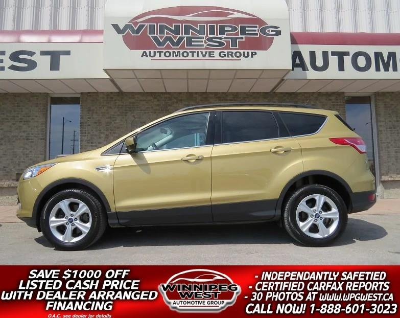 2015 Ford Escape SE ECOBOOST AWD, HEATED SEATS, HUGE VALUE! #GNW4658