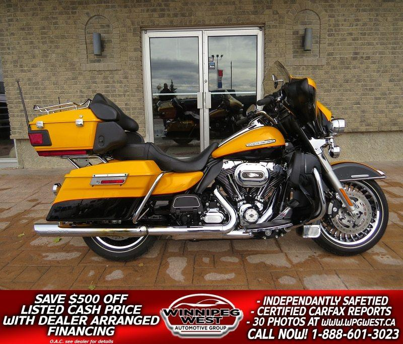 2013 Harley Davidson FLHTK Electra Glide Ultra Limited FLAWLESS LOADED & SHARP BIKE, ONLY 7K KMS! #W4755