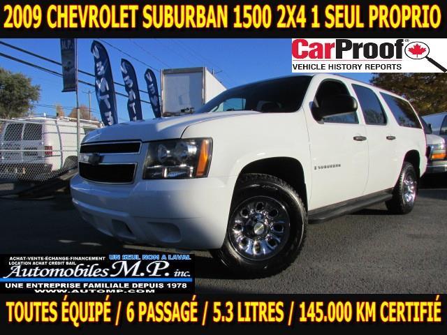 Chevrolet Suburban 2009 1500 LS 2X4 1 SSEUL PROPRIO 145.000 KM  IMPECCABLE #6671