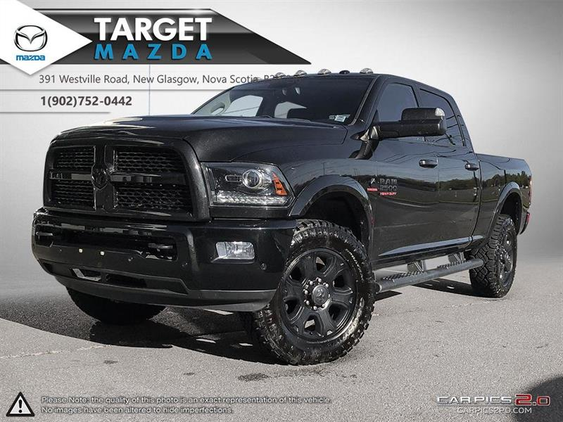 2016 Ram 2500 DIESEL! LARAMIE! BLACKOUT! NEW TIRES! NEW BRAKES! #U8845