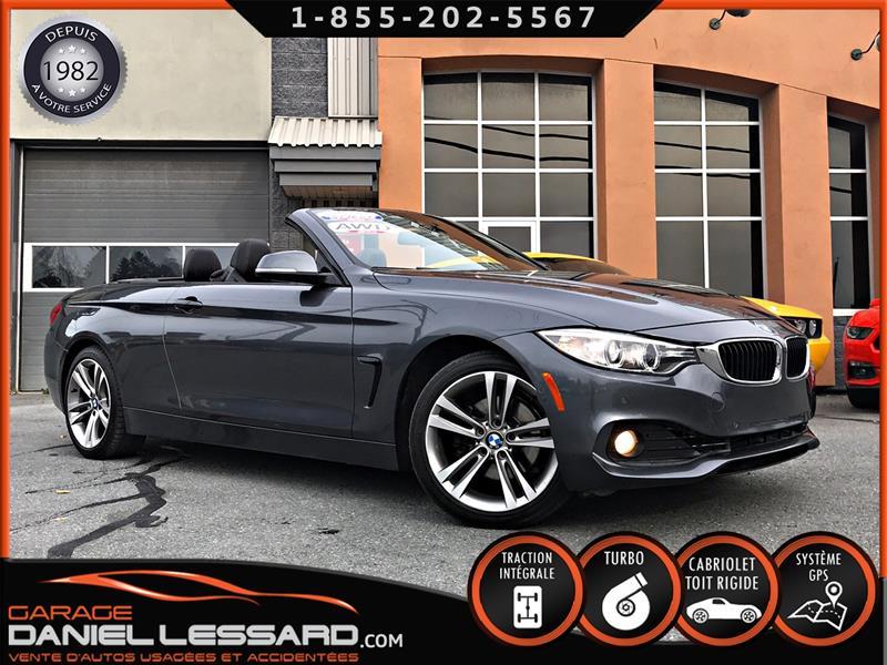 BMW 4 Series 2014 428i XDRIVE CABRIOLET, GPS,CAMÉRA 360 + ANGLE MORT #48512