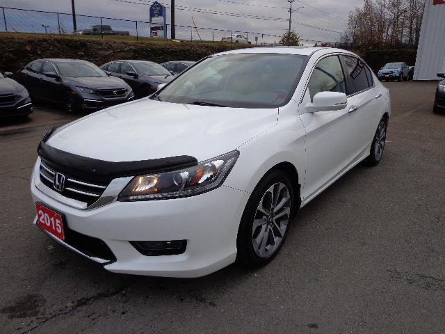 Honda Accord Sedan 2015 4dr I4 CVT Sport #FA805801A