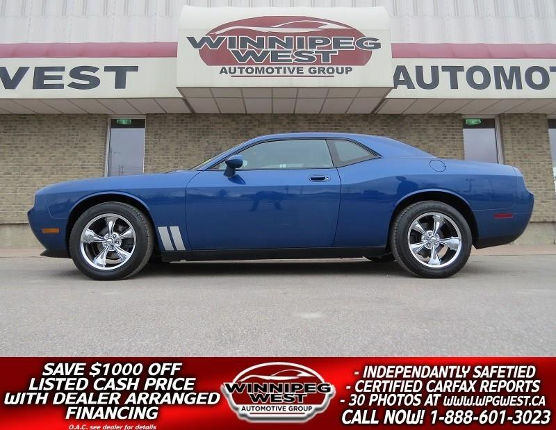 2010 Dodge Challenger SE SUNROOF, R/T PACKAGE, EXTRA CLEAN, HUGE VALUE! #W4751