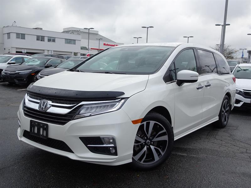 2018 Honda Odyssey Touring. Honda Certified Extended Warranty to 160, #LH8388