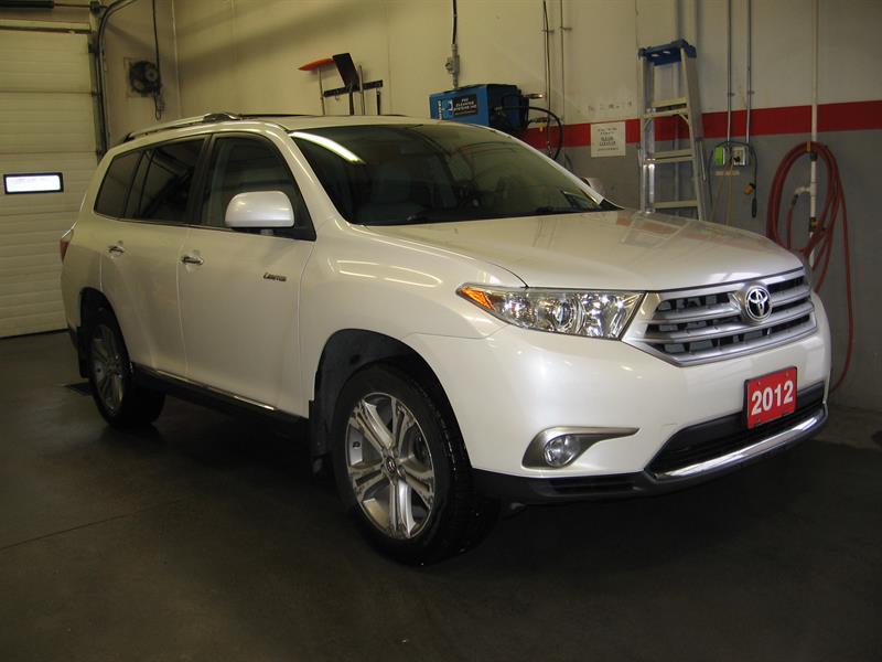 2012 Toyota Highlander Limited AWD #B5379A