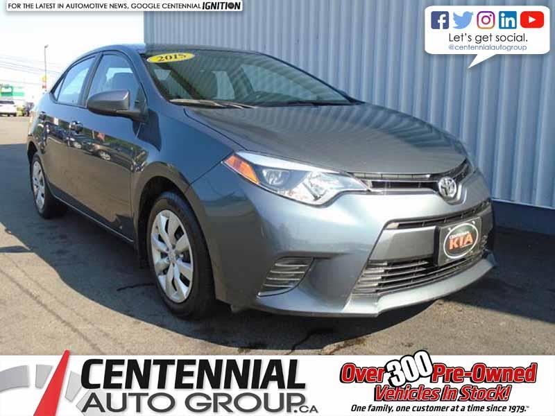 2015 Toyota Corolla LE |  #N1683B