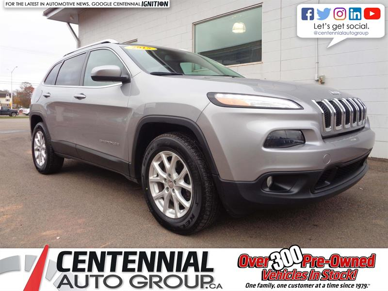 2015 Jeep Cherokee North | 4X4 | Backup Cam | Bluetooth | Sat. Radio #18-030A