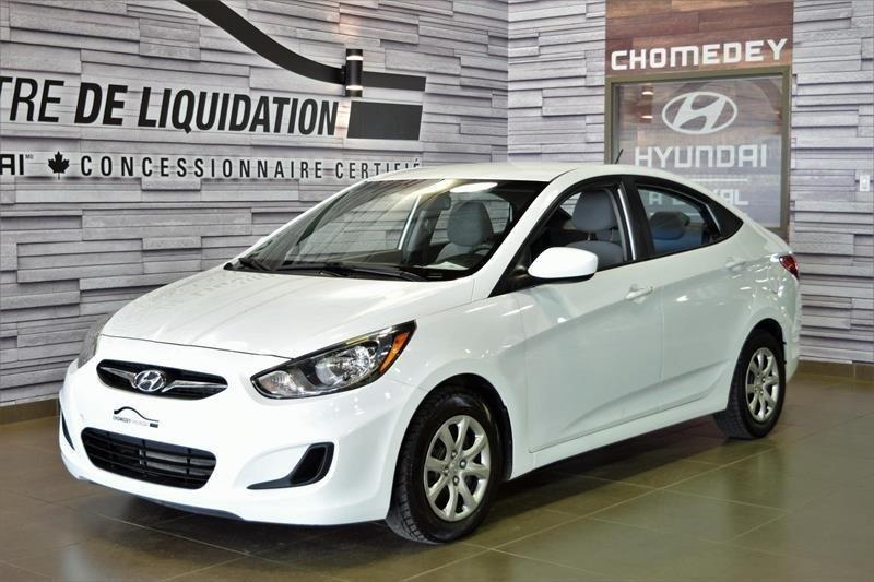 Hyundai Accent 2014 GL GR.ELECT+A/C+PNEU D'HIVER NOKIAN #S8415