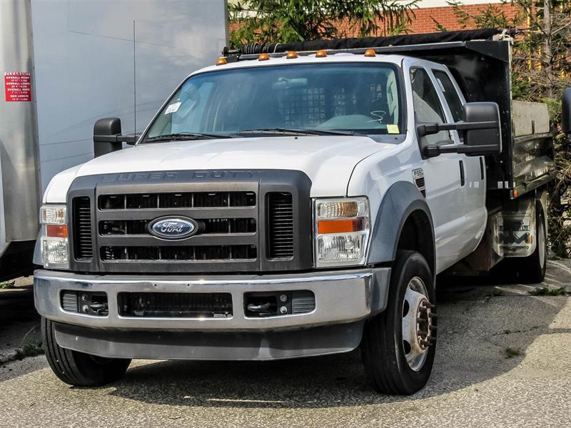 2009 Ford F-550 DUMP TRUCK 4X4 #51890