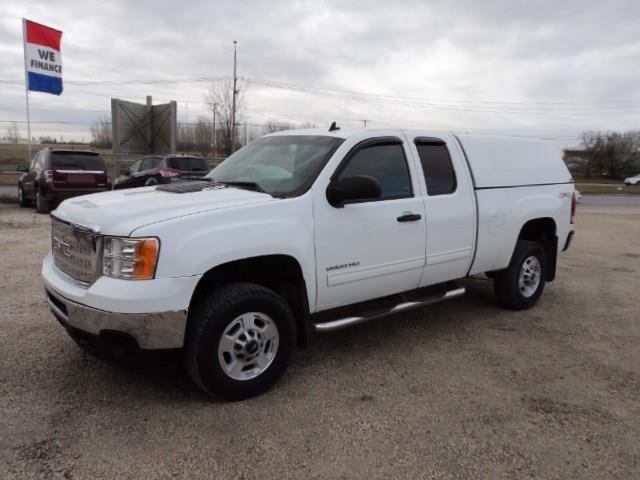 2012 GMC Sierra 2500HD Ext Cab 4x4 6.5 ft