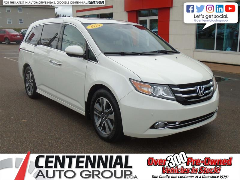 2016 Honda Odyssey Touring | Bluetooth | Backup Camera | Moon Roof | #9562A