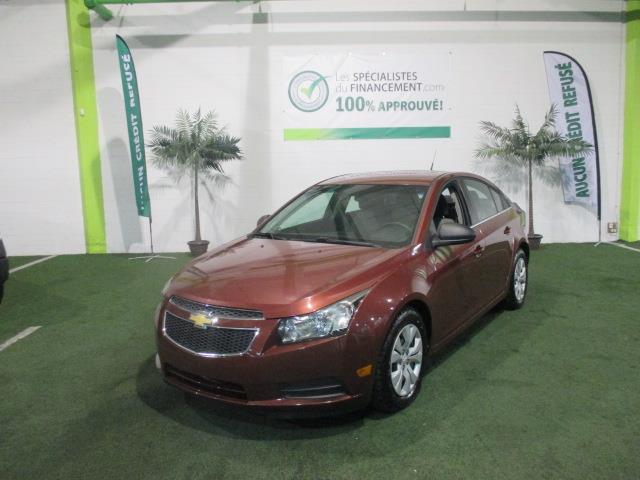 Chevrolet Cruze 2012 4dr Sdn LS+ w-1SB #2452-10