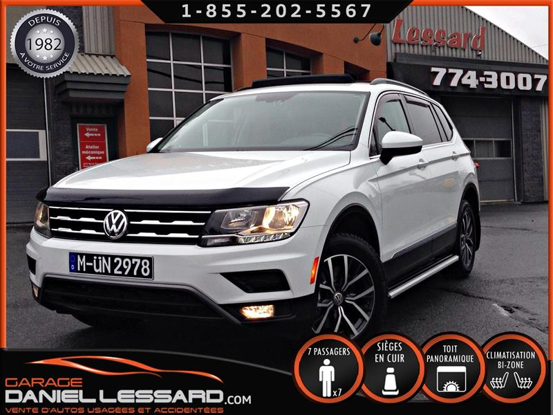 Volkswagen Tiguan 2018 4MOTION, 7 PLACES, CUIR, TOIT PANO, GPS, MAG #MARIE ANDRÉE 1