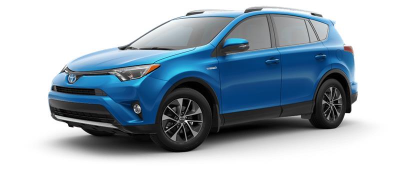 2018 Toyota RAV4 Hybrid AWD-i XLE #12243