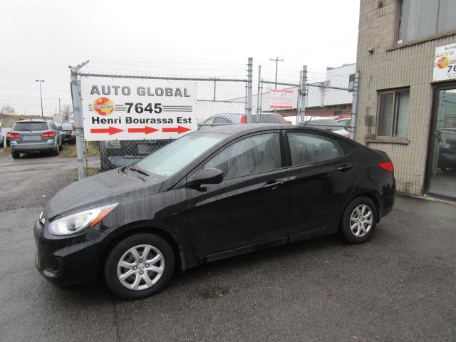 Hyundai Accent 2012 GL,AUT, AIR, TOUTE ÉQUIPÉE, BAS KILOMÉTRAGE! #18-1652