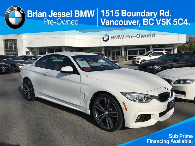 2017 BMW 4 Series 440i xDrive Cabriolet #BP7192