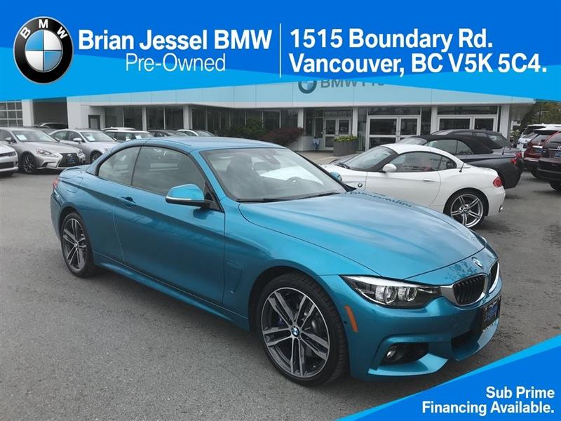 2018 BMW 4 Series 440i xDrive Cabriolet #BP7093