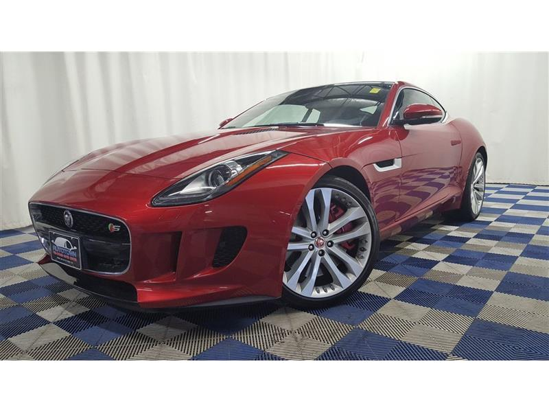 2015 Jaguar F-TYPE S ACCIDENT FREE/NAV/LEATHER #LUX15JF18389