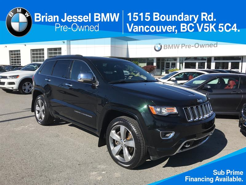 2014 Jeep Grand Cherokee 4x4 Overland #BP7196
