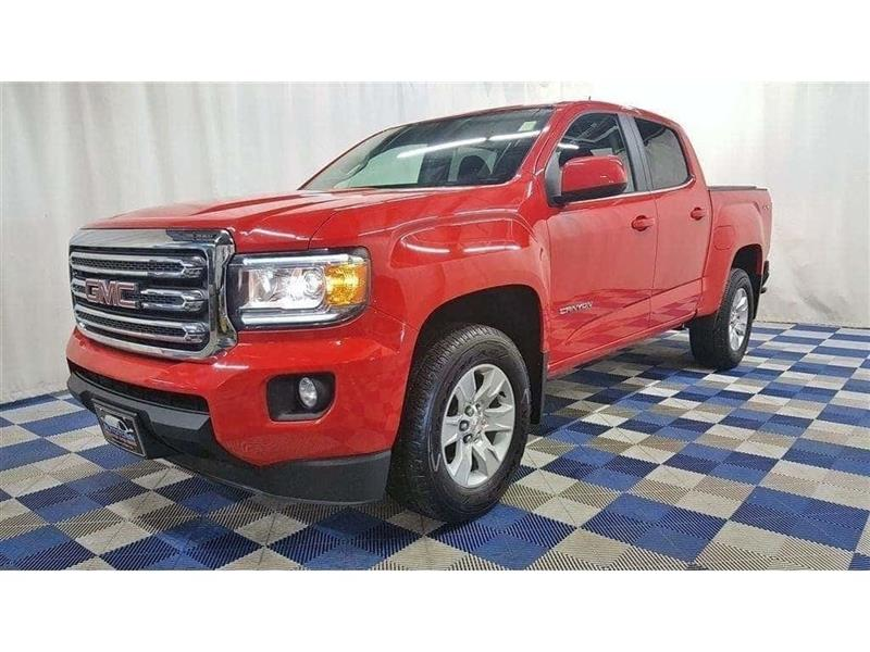 2016 GMC Canyon SLE 4X4/ACCIDENT FREE/TOUCH SCREEN/REAR CAM #16GC55828
