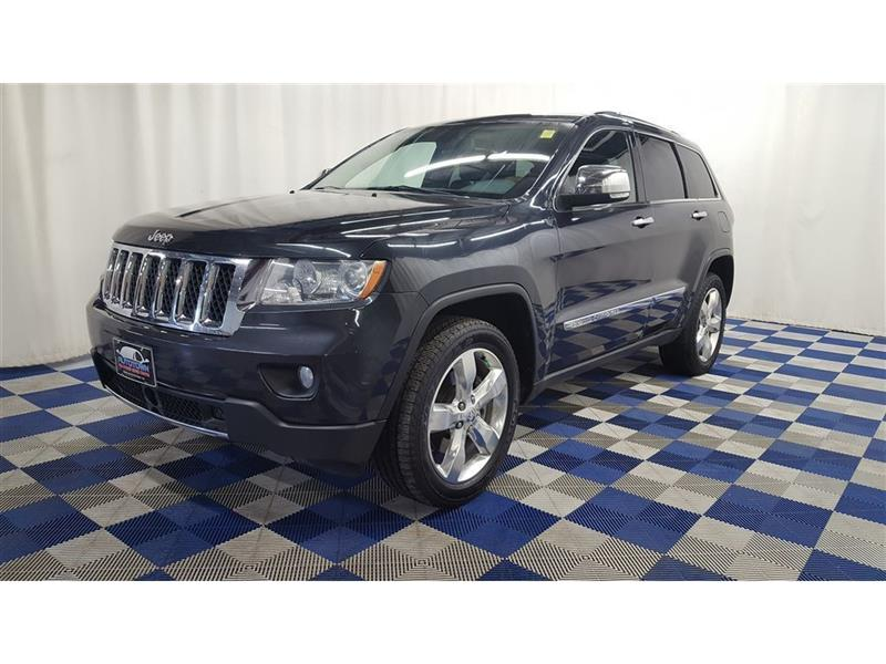 2013 Jeep Grand Cherokee Overland 4X4/DVD/LEATHER/NAV/LOADED!! #16B666157A