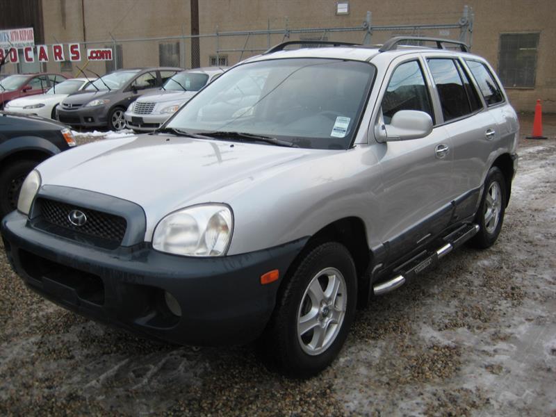 2004 Hyundai Santa Fe 4dr SUV GLS AWD 3.5L Auto #623775