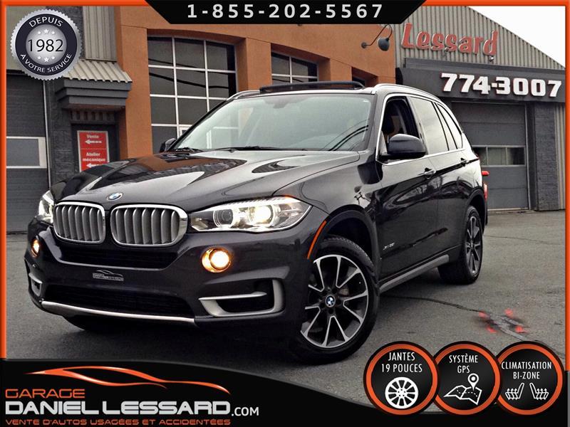 BMW X5 2017 AWD, 35i, TOIT PANO, GPS, CUIR, CAMÉRA #78548