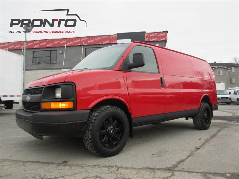 Chevrolet Express Cargo Van 2007 1500 #3769