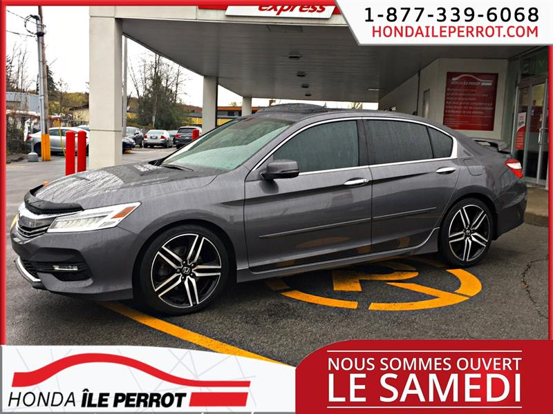 Honda Accord Sedan 2017 4dr I4 CVT Touring NAVIGATION #44769