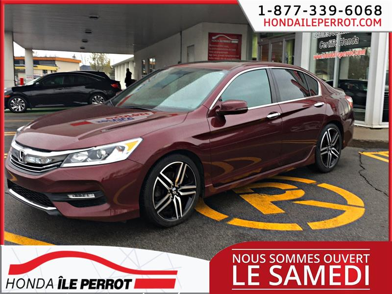 Honda Accord Sedan 2016 4dr I4 CVT Sport #44771