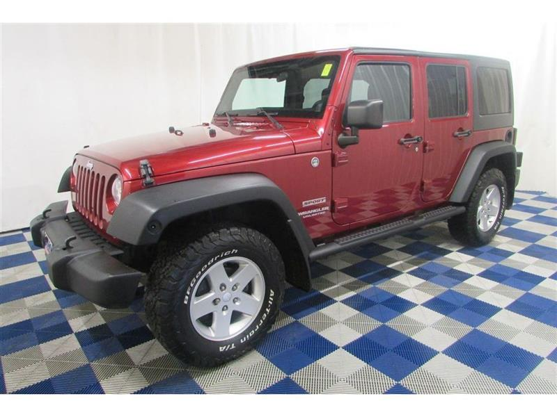 2011 Jeep Wrangler Unlimited Sport 4x4/ALLOYS/CRUISE!! #11JW92857